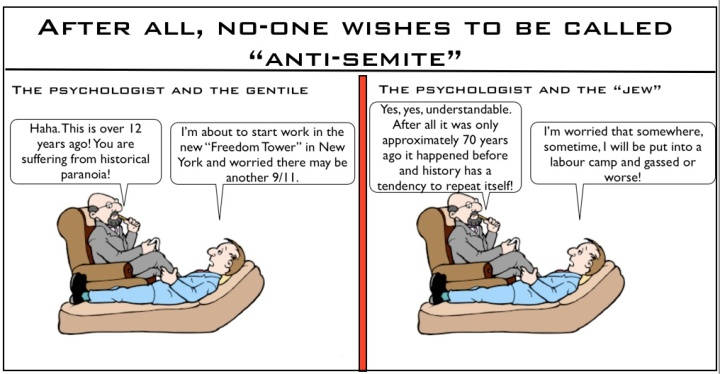After all, noone wishes to be called anti semite