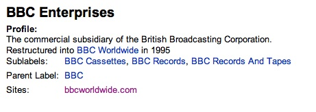 BBC Enterprises
