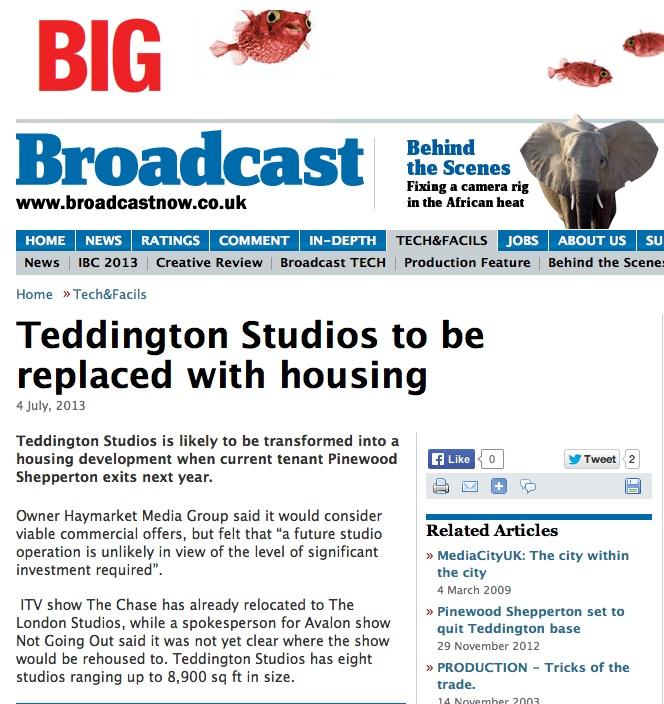 Teddington studios