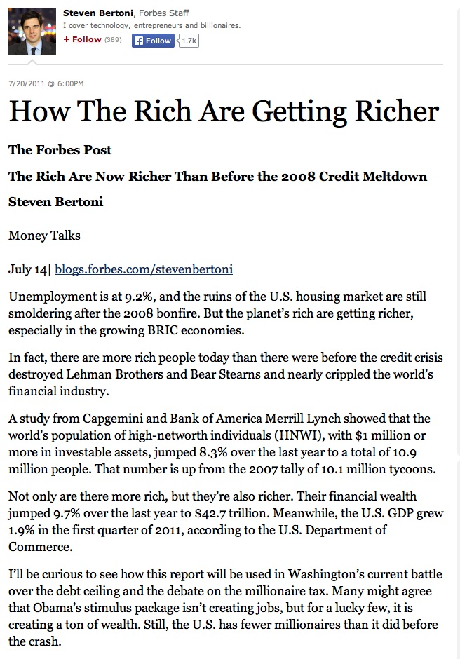 Forbes rich