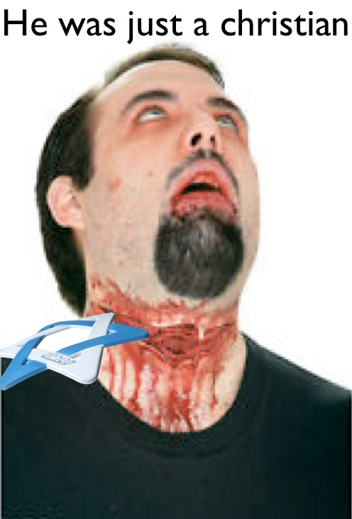 Star of david cutting throat