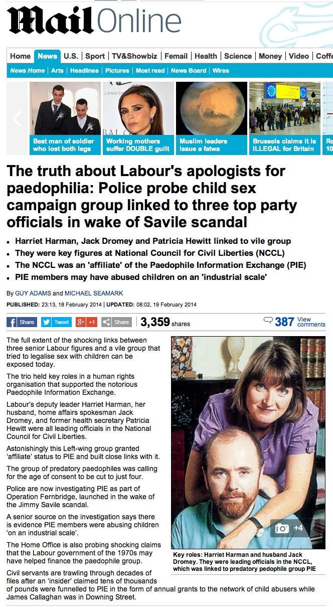 Daily Mail PIE