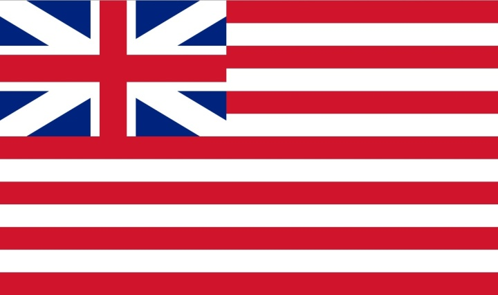 Flag of the British East India Company, 1707 - 1802.