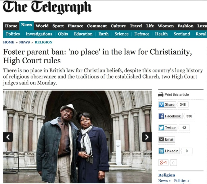 High Court no christianity
