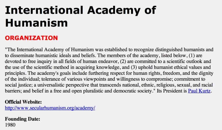 Humanism 1