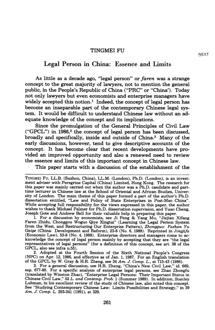 Ch legal 1