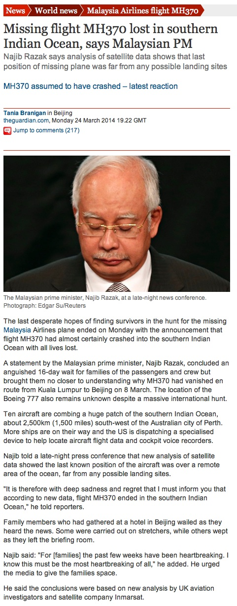 Who got to you Najib?
