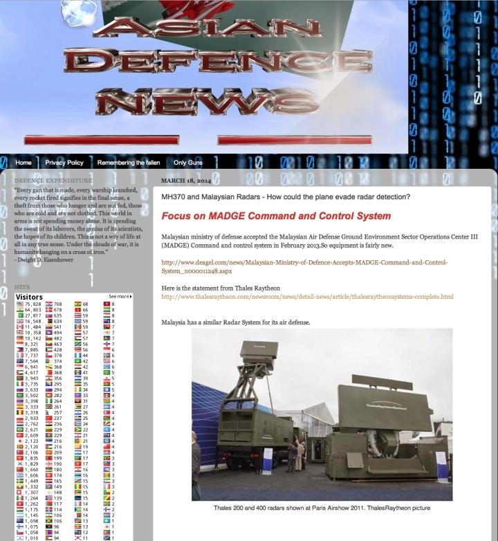 Malaysia Air defence