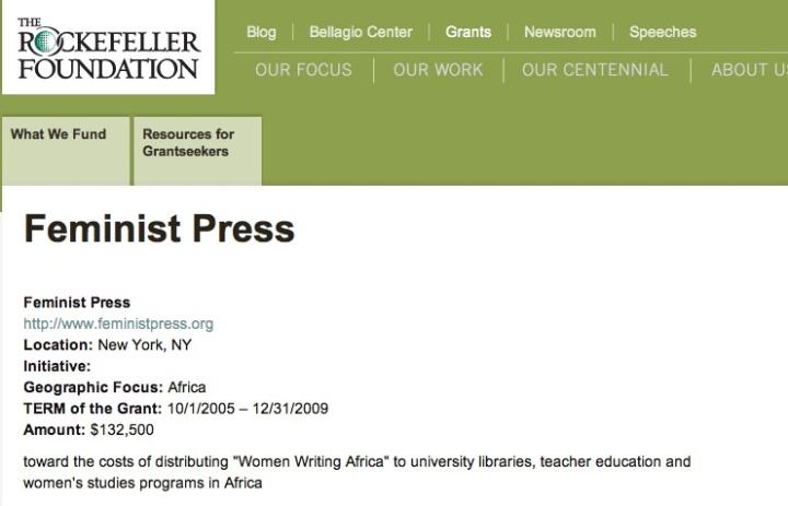 Rockefeller feminism