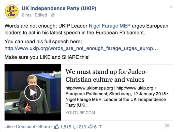 Farage judeo