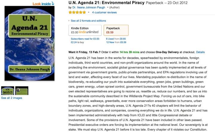 Agenda 21 book