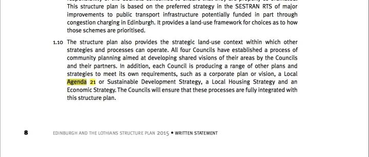 Edinburgh Agenda 21 3