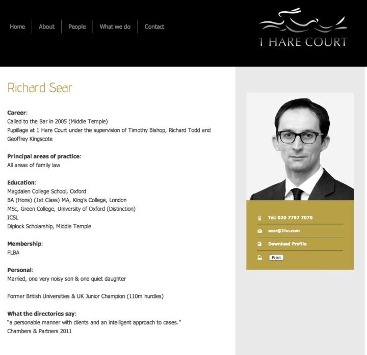 Richard Sear Barrister