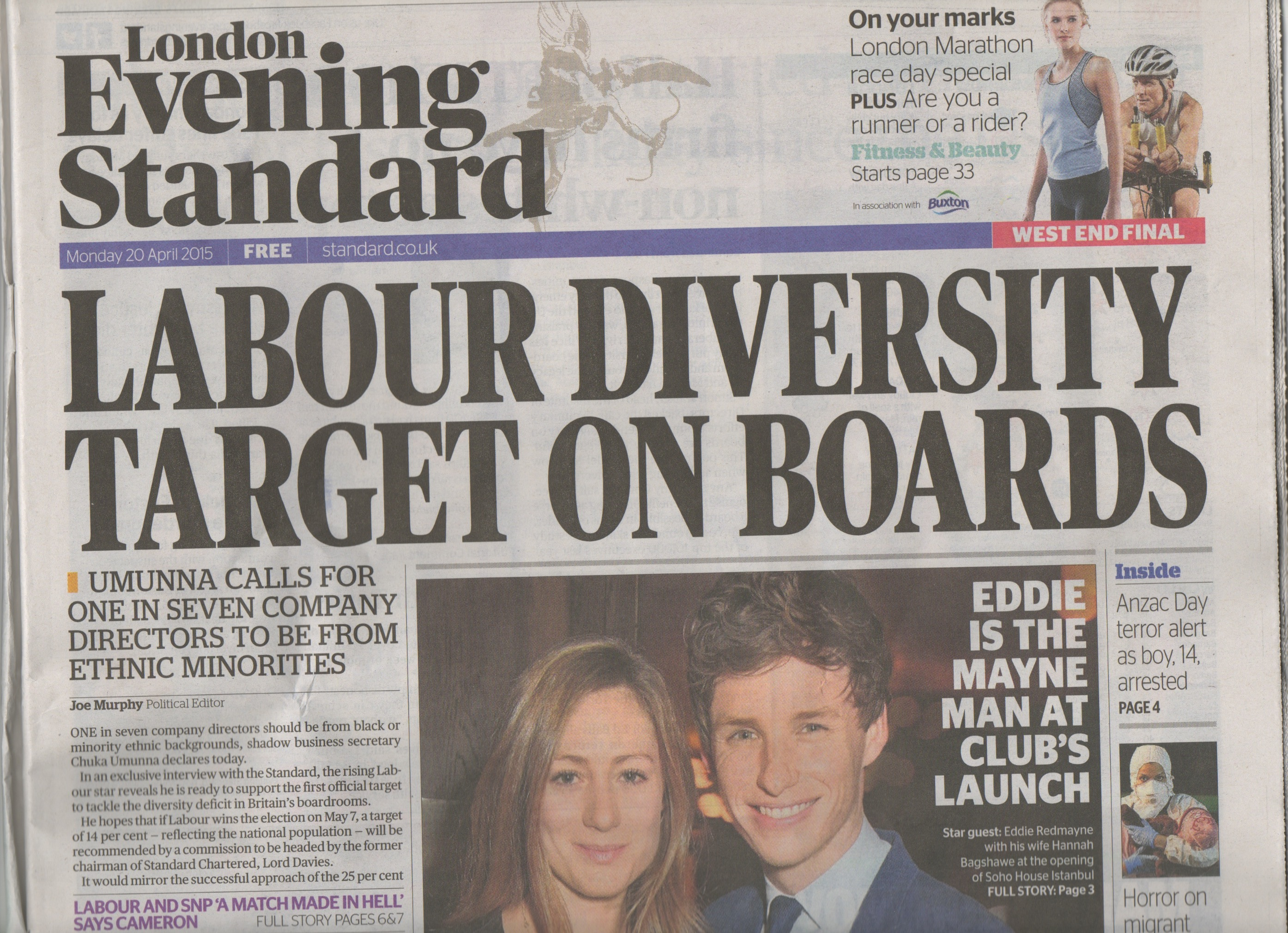 Labour Positive Discrimination