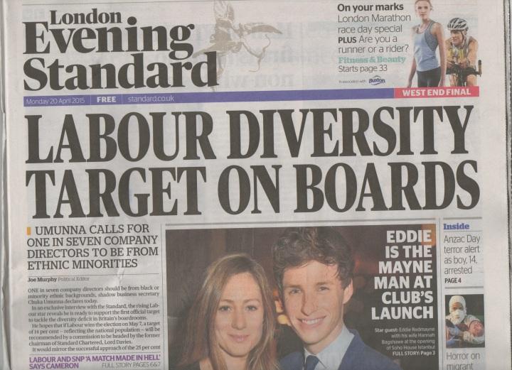 Labour positive discrimination