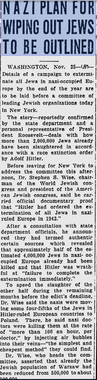 sarasota-herald-tribune-nov-25-1942-nazi-plan-to-wipe-out-jews